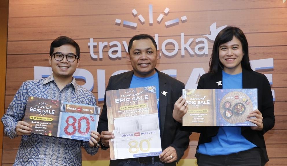 Traveloka Epic Sale Tebar Diskon Hotel Tiket Pesawat Di Akhir Tahun Portal Berita Bisnis Wisata