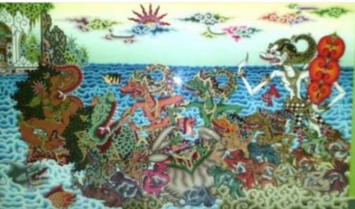 Kusdono Rastika Tak Sekedar Mewarisi Jiwa Pejuang Sang Maestro Lukisan Kaca Cirebon Portal Berita Bisnis Wisata