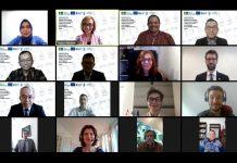 Virtual meeting tingkat tinggi hal HAM